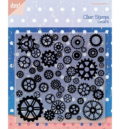 Joy!Crafts Clear Stamps Gears (6410/0080)