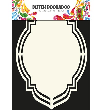 Dutch Doobadoo - Shape Art frames label ovaal (470 713 107)
