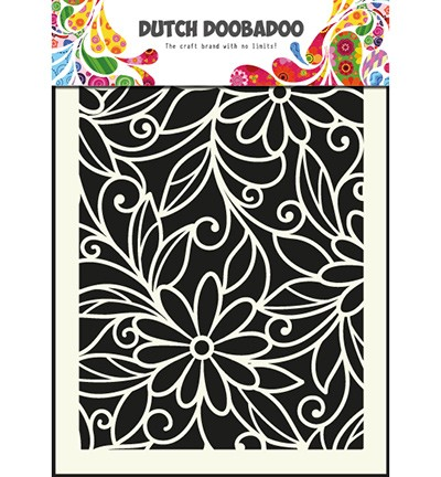 Dutch Doobadoo - Mask Art Flower Swirl (470 715 010)