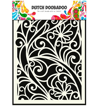Dutch Doobadoo - Mask Art  Flower window (470 715 024)