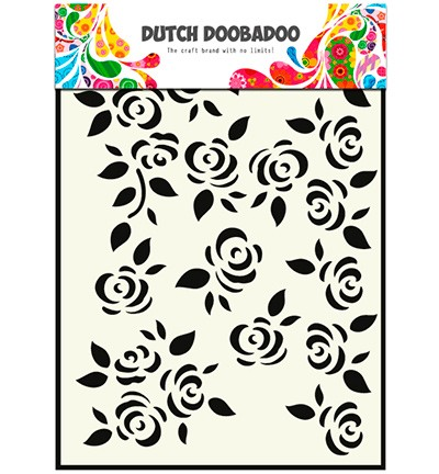 Dutch Doobadoo - Mask Art Roses (470 715 022)