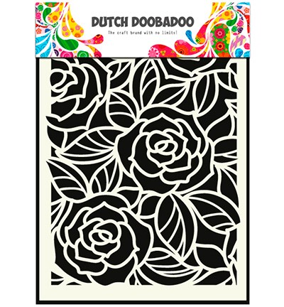 Dutch Doobadoo - Mask Art Big Roses (470 715 023)