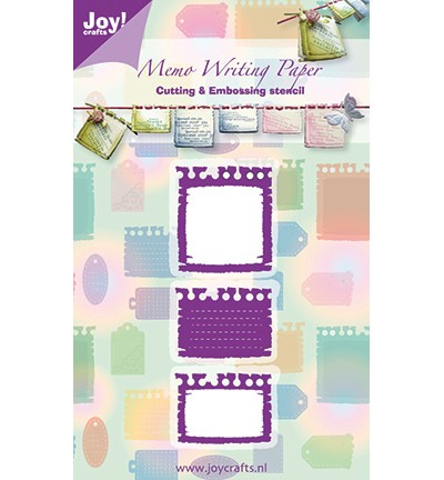 Joy! craft Snij & Embossing stencil memo (6002/0247)