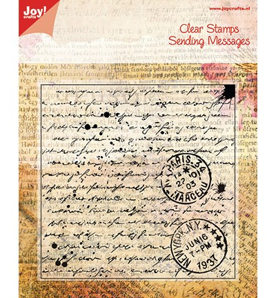 Joy!Crafts, Clear Stamps. Stempel Old Letter (6410/0024)