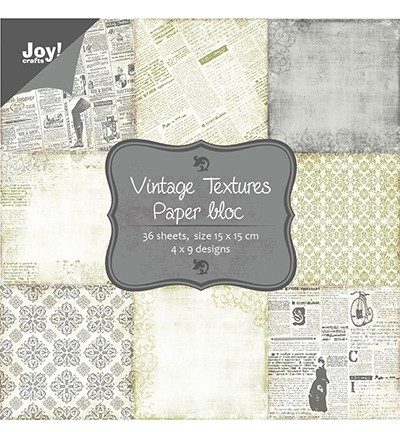 Joy! Craft - Papierblok Vintage Textures (6011-0039)