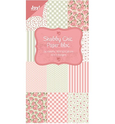 Joy! Craft - Shabby Chic paper bloc (6011-0303)