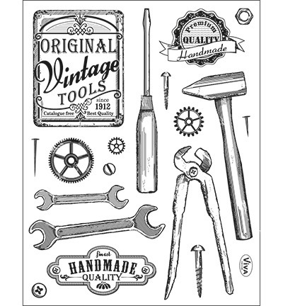 Clear Stamps - Vintage Tools (400310100)