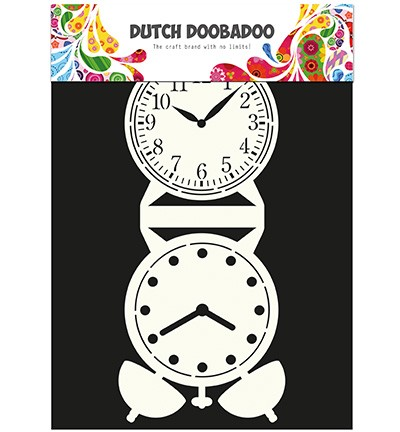 Dutch Doobadoo - Card Art Clock (470 713 505)