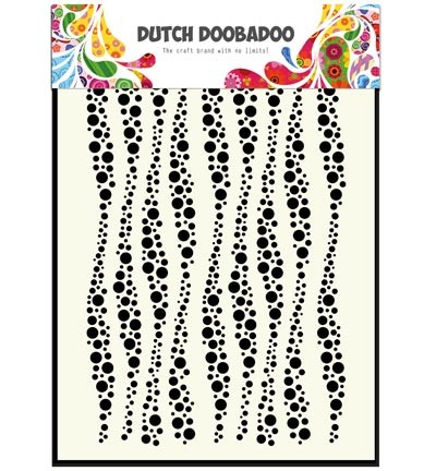 Dutch Doobadoo - Mask Art Wavy stripes (470 715 037)