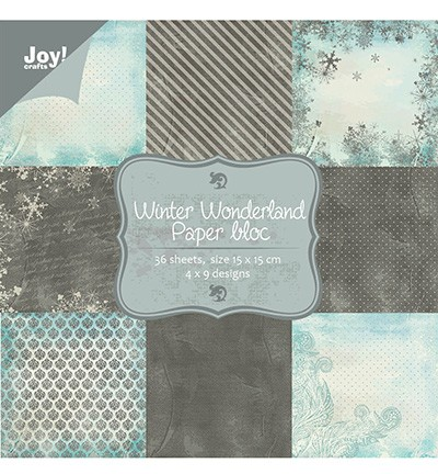 Joy! Craft Paper bloc - Winter Wonderland (6011-0047)