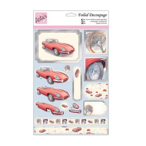 Foiled Decoupage - Drive Away