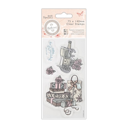 Mini Clear Stamp - Bellisima - Celebrate - PMA 907195