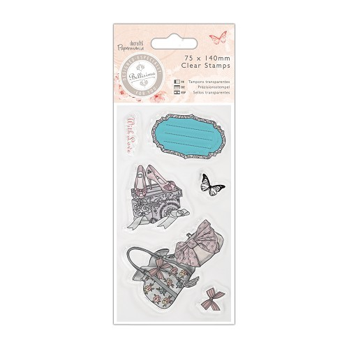 Mini Clear Stamp - Bellisima - Shoes & Bags - PMA 907197