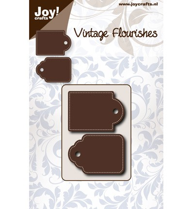 joy Cutting & Embossing Vintage Flourishes dub tag (6003-0062)