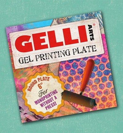 Gelli Printing Plates rond 6 inch