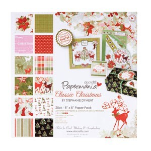 paper & die cut pack - classic christmas