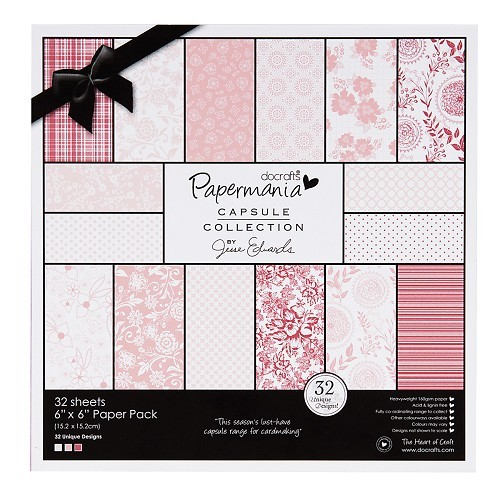 6x6 paper pack parkstone pink