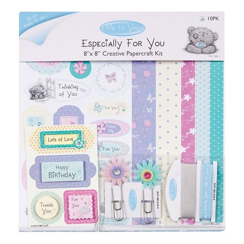 me to you 8x8 creative papercraft kit