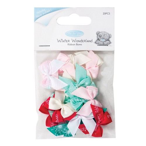 Strikjes Ribbon Bows ( Me to You ) Winter Wonderland