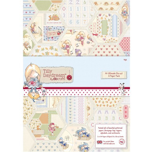 A4 Ultimate die-cut paperpack (48st) - Tilly Dreamday (TIL169100)