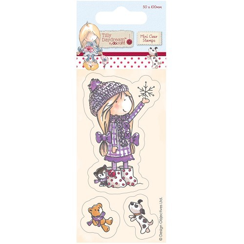 mini clear stamp - tilly daydream (TIL907103) snowflake