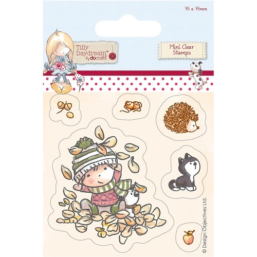 mini clear stamp - tilly daydream (TIL907101) terry