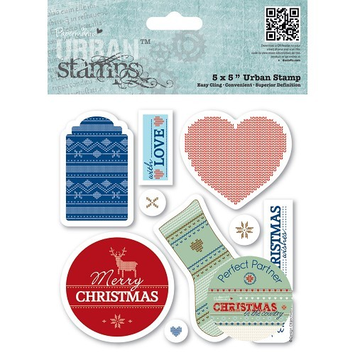 Christmas stamp - urban tamp (PMA907180) tags