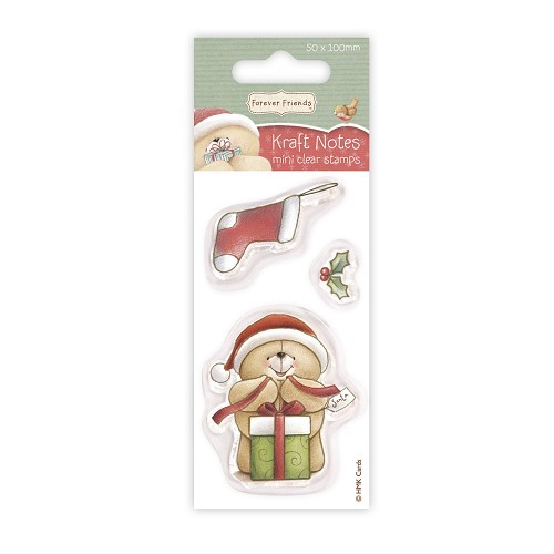 Forever friends Mini Clear Stamp - Christmas Kraft Notes - Stocking