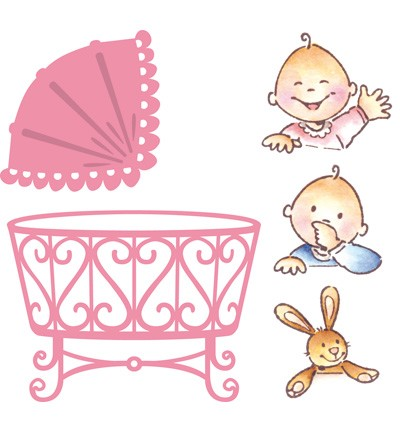 Marianne Design Collectable Eline`s Baby (COL1313)