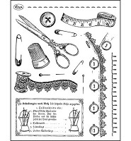 Viva Decor Tailoring Clear Stamp Set (4003 083 00)
