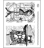 Viva Decor Background Tailoring Clear Stamp Set (4003 084 00)