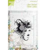 Joy! Crafts Clear Stamps Floral Ladies (6410/0071) - 6410/0071