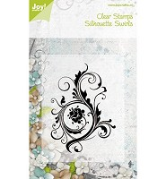 Joy!Crafts Clear Stamps Silhouette Swirls (6410/0075) - 6410/0075