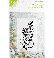 Joy!Crafts Clear Stamps Silhouette Swirls (6410/0074) - 6410/0074
