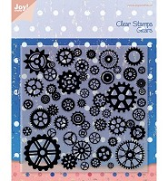 Joy!Crafts Clear Stamps Gears (6410/0080) - 6410/0080