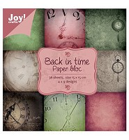 Joy! Craft Papier blok Back in Time (6011/0020) - 6011/0020