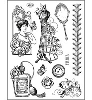 Clear Stamps - Paris Couture (400308200 )