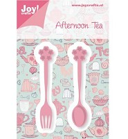 Joy! Crafts Tea Theelepel + Vorkje (6002/0465)