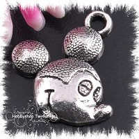 Metalen mickey mouse