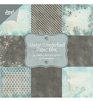 Joy! Craft Paper bloc - Winter Wonderland (6011-0047) - 6011-0047