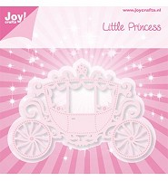 Joy! crafts - Noor! Design Little Princess -Koets (6002/0352) - 6002/0352