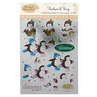 die-cut decoupage - snow place like  - DND-1691201