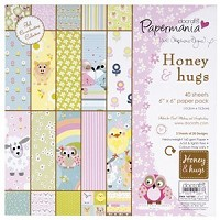paper pack - honey & hugs  - PMA-1607302