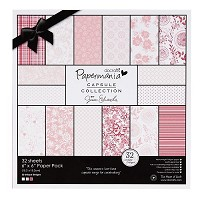 6x6 paper pack parkstone pink  - PMA-160301