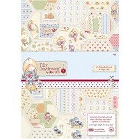 A4 Ultimate die-cut paperpack (48st) - Tilly Dreamday (TIL169100) - TIL-169100
