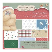 Forever Friends - Christmas Kraft Notes