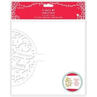 Pop-up Cards (4pk) - 12 Days of Christmas - Text  - PMA-150916