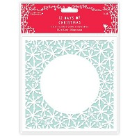 6 x 6 Filigree Cards & Envelopes (6pk) - 12 Days of Christmas  - PMA-150915