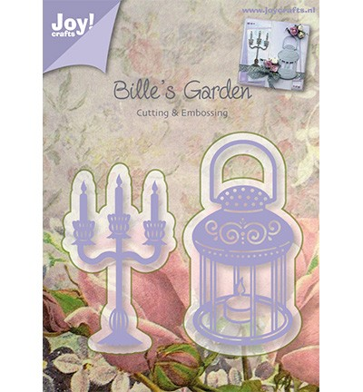 Joy! Craft - Stencil Kandelaar en lamp (6002/0377)