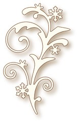 Wild Rose Studio`s Specialty die - Snow Flourish (SD025)